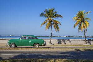 Cuba, Cienfuegos, the Malecon Linking the City Center to Punta Gorda by Jane Sweeney