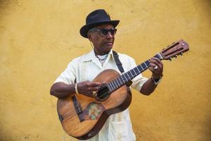 Cuba, Santiago De Cuba Province, Santiago De Cuba, Historical Center, Musician by Jane Sweeney