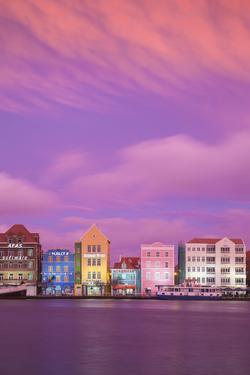 Curacao, Willemstad, View of St Anna Bay, looking towards the Dutch colonial buildings on Handelska by Jane Sweeney