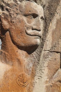 Detail, Echmiadzin Complex, Armenia, Central Asia, Asia by Jane Sweeney