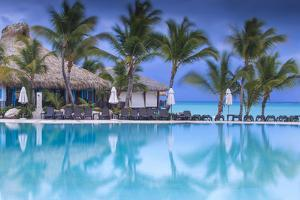 Dominican Republic, Punta Cana, Cap Cana, Swimmkng Pool at the Sanctuary Cap Cana Resort and Spa by Jane Sweeney