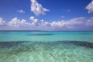 Dominican Republic, Punta Cana, Parque Nacional Del Este, Piscina Natural , a Shallow Sandbank by Jane Sweeney