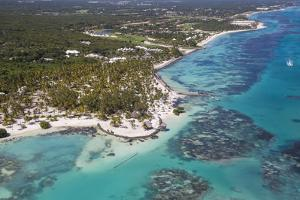 Dominican Republic, Punta Cana, View of Cap Cana, Juanillo by Jane Sweeney