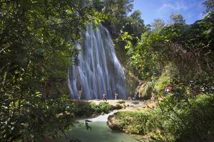 El Limon Waterfall, Eastern Peninsula De Samana, Dominican Republic, West Indies, Caribbean by Jane Sweeney