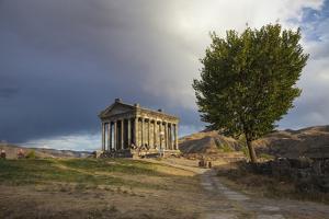 Garni Temple, Garni, Yerevan, Armenia, Central Asia, Asia by Jane Sweeney
