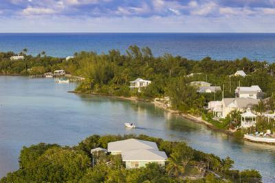 Harbour, Hope Town, Elbow Cay, Abaco Islands, Bahamas, West Indies, Central America by Jane Sweeney