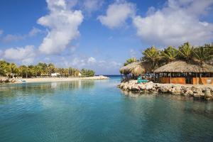 Hemingway Beach Beach Bar and Grill, Willemstad, Curacao, West Indies, Lesser Antilles by Jane Sweeney