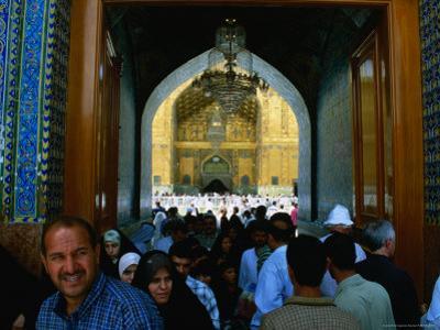 Holy Shrine of the Imam Ali Ibn Abi Talib, an Najaf, Iraq by Jane Sweeney