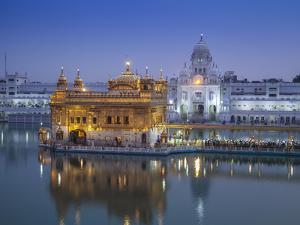 India, Punjab, Amritsar, the Harmandir Sahib,  Known As the Golden Temple by Jane Sweeney