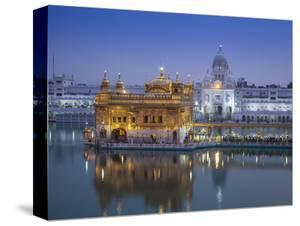 India, Punjab, Amritsar, the Harmandir Sahib,  Known As the Golden Temple by Jane Sweeney