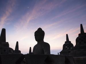 Indonesia, Java, Magelang, Borobudur Temple by Jane Sweeney