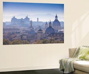 Italy, Lazio, Rome, View Looking Towards Vittorio Emanuele Ii Monument by Jane Sweeney