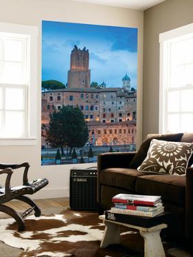 Italy, Lazio, Rome, View of Mercati Di Traiano -Trajan's Market by Jane Sweeney