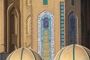 Jalil Khayat Mosque, Erbil, Kurdistan, Iraq, Middle East by Jane Sweeney
