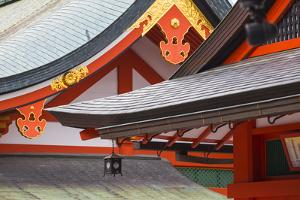 Japan, Kyoto, Fushimi Inari Shrine by Jane Sweeney