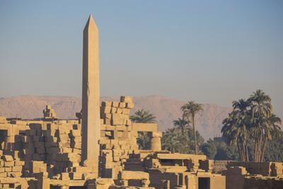 Karnak Temple, UNESCO World Heritage Site, near Luxor, Egypt, North Africa, Africa by Jane Sweeney