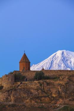 Khor Virap Armenian Apostolic Church Monastery by Jane Sweeney