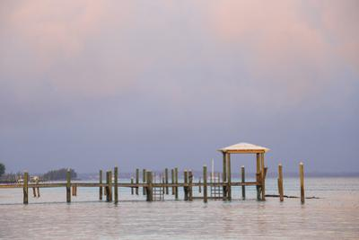 Marsh Harbour, Pier, Great Abaco, Abaco Islands, Bahamas, West Indies, Central America by Jane Sweeney