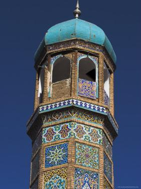 Minaret of the Friday Mosque or Masjet-Ejam, Herat, Afghanistan by Jane Sweeney
