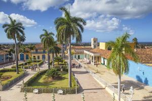 Plaza Mayor, Trinidadsancti Spiritus Province, Cuba, West Indies, Caribbean by Jane Sweeney