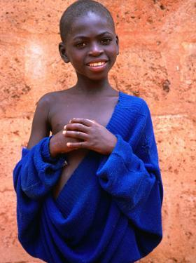 Portrait of Boy in Togoville, Togo by Jane Sweeney