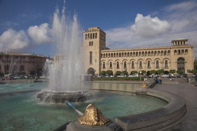 Republic Square, Yerevan, Armenia, Central Asia, Asia by Jane Sweeney