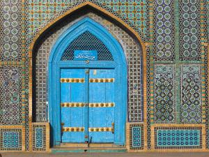 Shrine of Hazrat Ali, Who was Assassinated in 661, Mazar-I-Sharif, Balkh Province, Afghanistan by Jane Sweeney