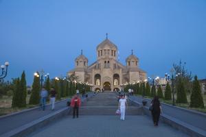 Surp Grigor Lusavorich Yekeghetsi Cathedral by Jane Sweeney