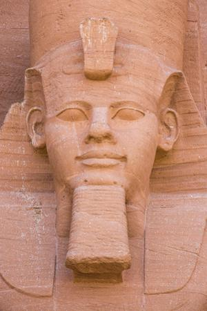 The Great Temple (Temple of Ramses II), Abu Simbel, UNESCO World Heritage Site, Egypt, North Africa by Jane Sweeney