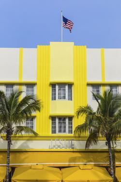 U.S.A, Miami, Miami Beach, South Beach, Ocean Drive, Leslie Hotel by Jane Sweeney