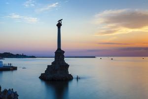 Ukraine, Crimea, Sevastopol, Eagle Column - Monument to the Scuttled Ships by Jane Sweeney