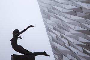 United Kingdom, Northern Ireland, Belfast, View of the Titanic Belfast Museum by Jane Sweeney