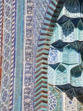 Uzbekistan, Samarkand, Shah-I-Zinder Necropolis by Jane Sweeney