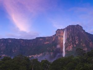 Venezuela, Guayana, Canaima National Park, Angel Falls by Jane Sweeney
