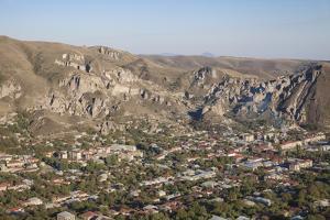 View of Goris, Armenia, Central Asia, Asia by Jane Sweeney