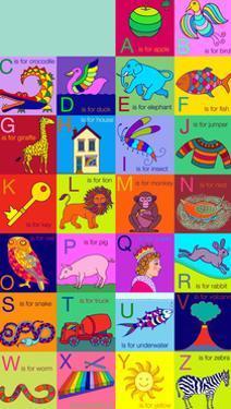 Alphabet for children, 2002 by Jane Tattersfield