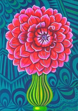 Dahlia, 2014 by Jane Tattersfield