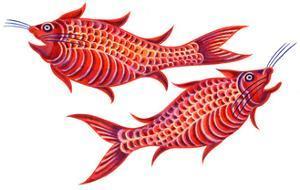 Fish Pisces, 1996 by Jane Tattersfield