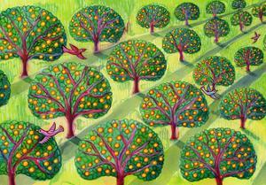 Orchard by Jane Tattersfield