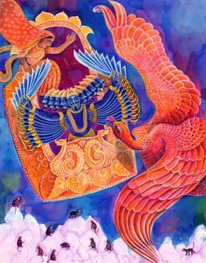 Ram and Sita, 1999, by Jane Tattersfield