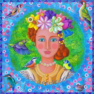 Spring girl, 2016 by Jane Tattersfield