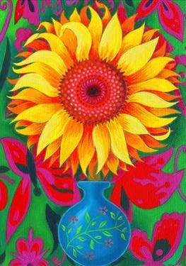 Sunflower, 2015 by Jane Tattersfield