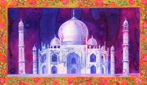 Taj Mahal, 1998, by Jane Tattersfield