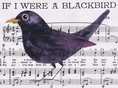 If I Were a Blackbird by Jane Wilson
