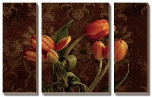Fleur De Lis Tulips by Janel Pahl