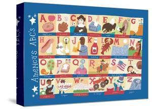 America's Alphabet by Janell Genovese