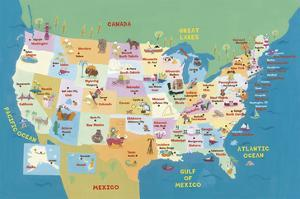 USA States and Capitals by Janell Genovese