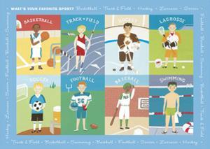What's Your Favorite Sport? by Janell Genovese