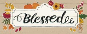 Thankful V Harvest by Janelle Penner