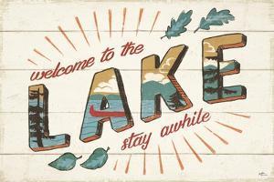 Vintage Lake I by Janelle Penner